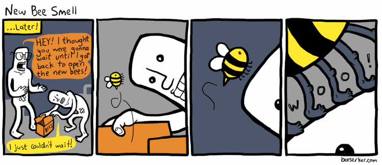 New Bee Smell