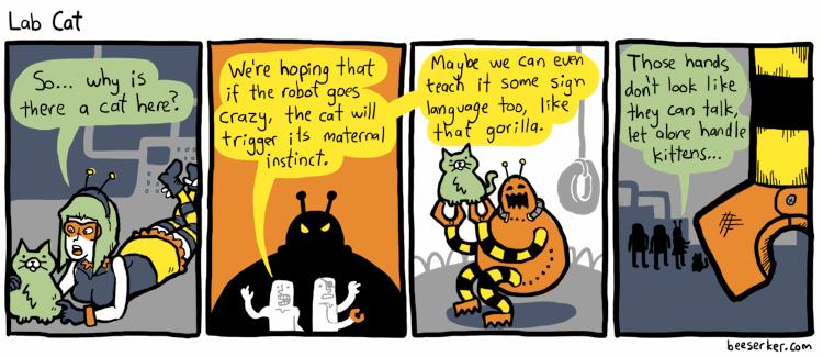 Lab Cat