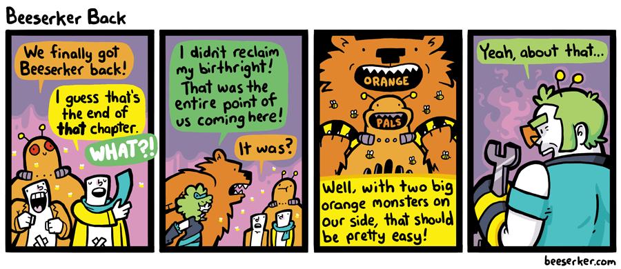 Beeserker Back
