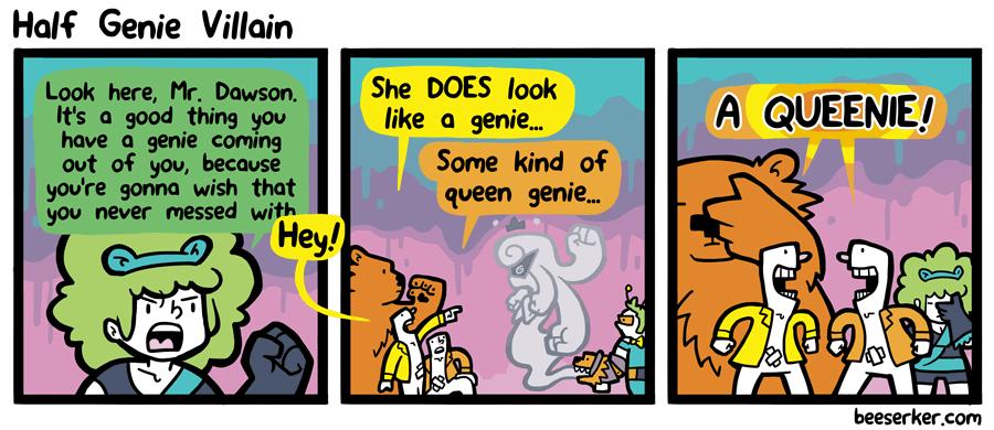 Half Genie Villain