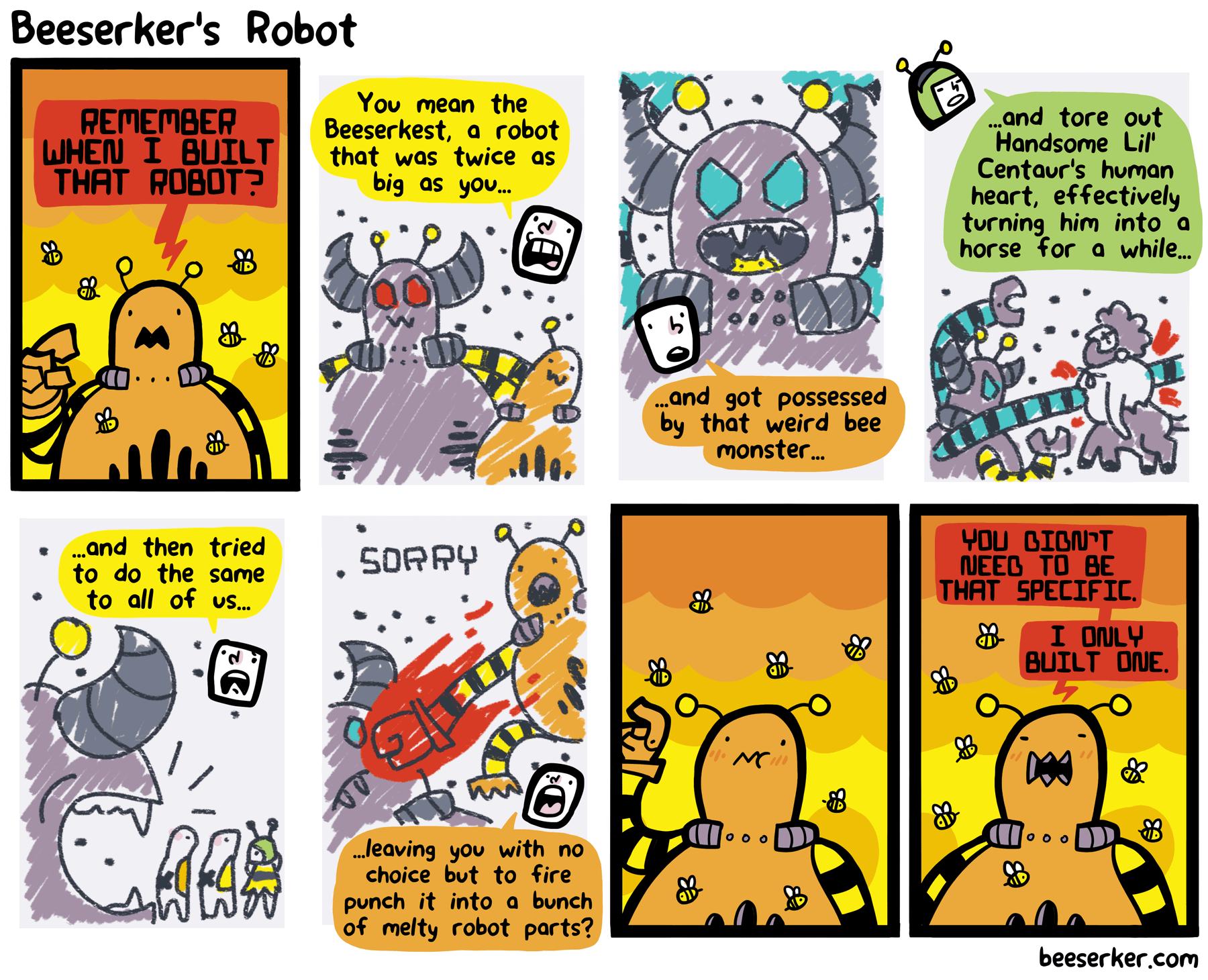 Beeserker's Robot