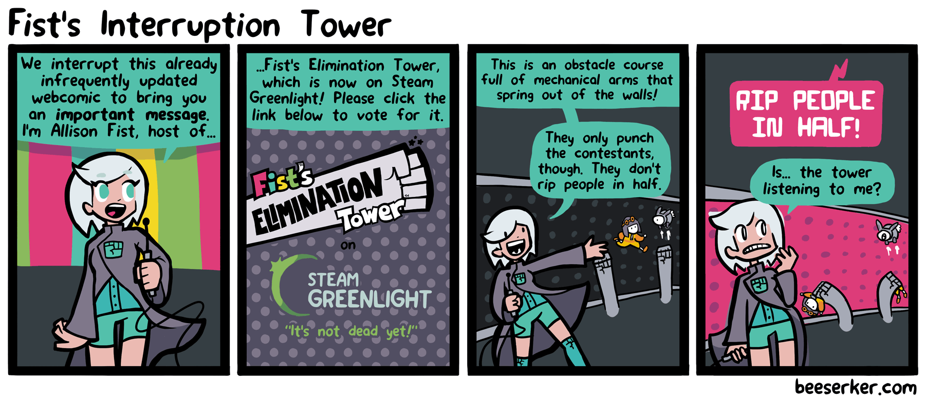 Fist's Interruption Tower
