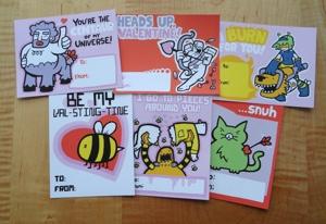 Beeserker Valentines!